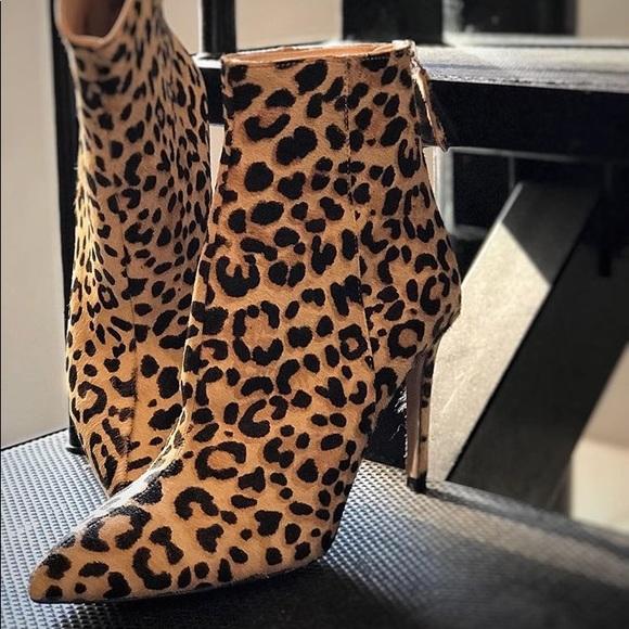 Steve Madden Carey Leopard Booties